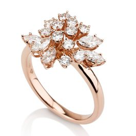 Diamond tree Ring