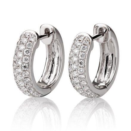 Diamond hoops