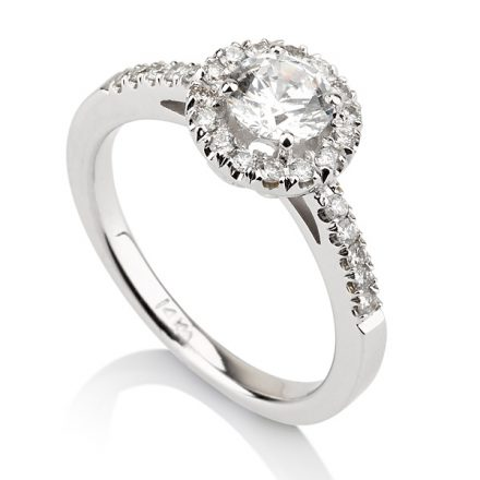 Solitaire Pave Round