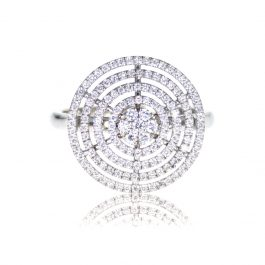 Circle Diamonds Ring